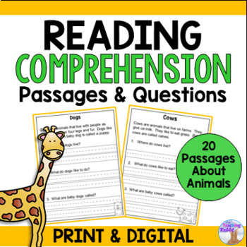 Non-Fiction Reading Comprehension Passages and Questions