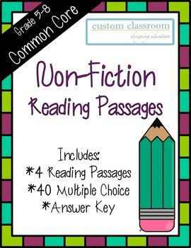 Non-Fiction Reading Passages