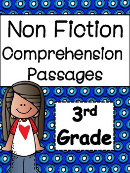 Non Fiction Reading Comprehension Printables for Third Grade
