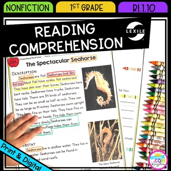 Complex texts for first grade teaching resources teachers pay teachers nonfiction reading comprehension ri10 1st grade fandeluxe Image collections