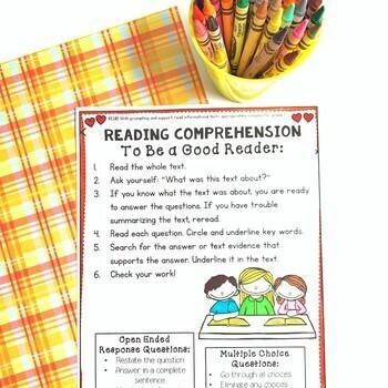 Nonfiction Reading Comprehension- RI.1.0 (1st Grade)
