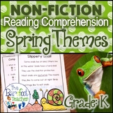 Spring Non-Fiction Reading Comprehension Passages and Questions