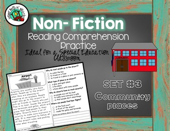 Non-Fiction BUNDLE  of Reading Comprehension for Special Education-BUNDLE