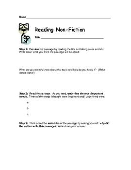 Non-Fiction Reading Guide