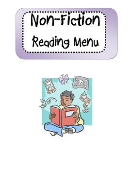 Non-Fiction Reading Menu