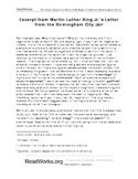 Non-Fiction Reading Passage and Question Set