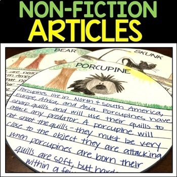 Non-Fiction Reading Passages For Google - Animals