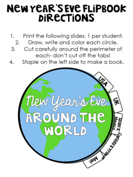 Non-Fiction Reading Passages for New Year's Eve