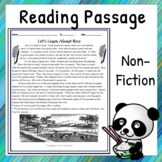 Non-Fiction Reading Comprehension Passage - Let's Learn Ab