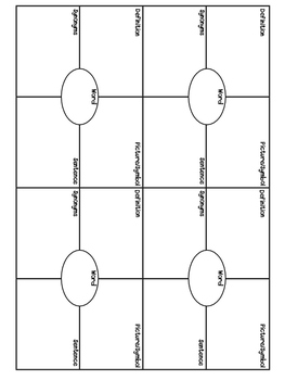 Non - Fiction Reading Response Choice Board {version 2}