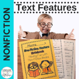 Nonfiction Text Features Notebook, Lesson Plan and Response Frames