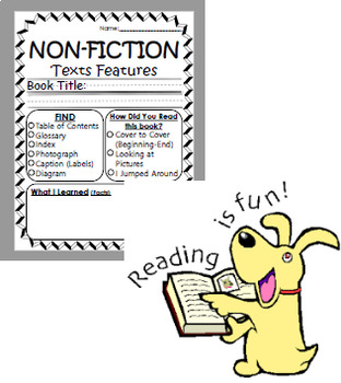 Non-Fiction Reading Response Worksheet-EASY