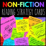 Nonfiction Reading Strategy Cards