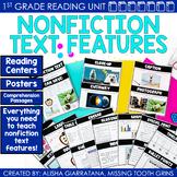 Nonfiction Text Features Reading Unit