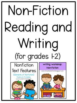 First Grade Non-Fiction Reading and Writing Bundle