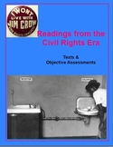 Non-Fiction Readings from the Civil Rights Era -- texts & Objective Assessments