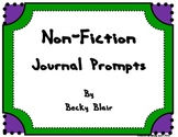 Non-Fiction Reflection Journals