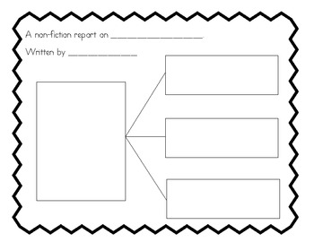 Non-Fiction Report/Planning Page