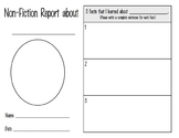 Non-Fiction Reports - Different Levels