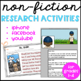 Non-Fiction Research Activity Pack