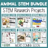 Non Fiction Research & STEM Animal Bundle | {Digital & Printable}