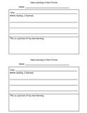 Non-Fiction Response Pack