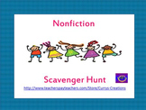Non Fiction Scavenger Hunt - Informational Text