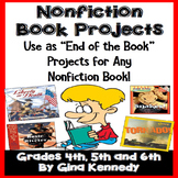 Nonfiction Book Report Projects for Books, Textbook Chapte