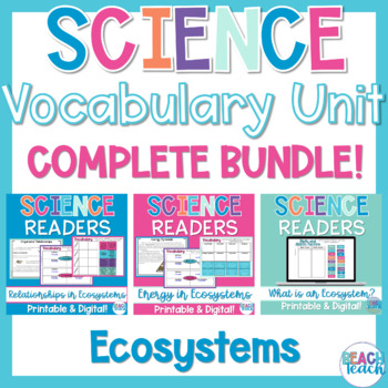 Non-Fiction Science Readers: Ecosystems Bundle