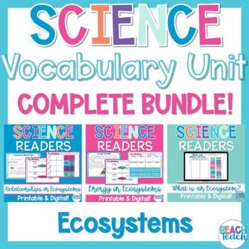 Non-Fiction Science Readers: Ecosystems Bundle