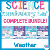 Non-Fiction Science Readers: Weather Bundle