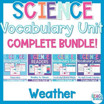 Non-Fiction Science Readers: Weather Bundle