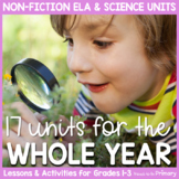 Non-Fiction & Life Science Units Bundle