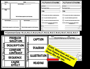 Non-Fiction Student Project Informational Text Features & Structure Common Core