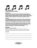 Non-Fiction Study:  A Musical Memoir Essay