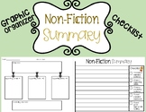 Non-Fiction Summary Graphic Organizer & Checklist