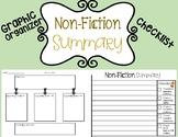 Non-Fiction Summary Graphic Organizer & Checklist (NOW DIGITAL)