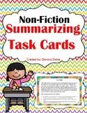 Summarizing Task Cards - Non-Fiction - Summary Task Cards -  Non-Fiction