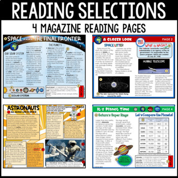Exploring Space Non-Fiction Task Cards