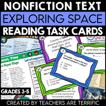Exploring Space Nonfiction Task Cards