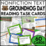 Groundhog Day Non-Fiction Task Cards