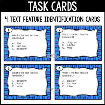 Polar Regions Non-Fiction Task Cards Free Sample