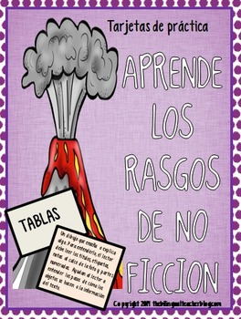 Non-Fiction Task Cards in Spanish