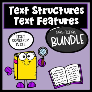 Non Fiction Text Features/Structures BUNDLE (Informational Text)
