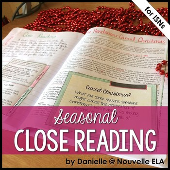 Non-Fiction Text - Close Reading Passage - The Hendersons Cancel Christmas