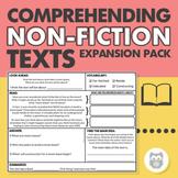 Non-Fiction Text Comprehension Expansion Pack - Language Strategies & Main Idea