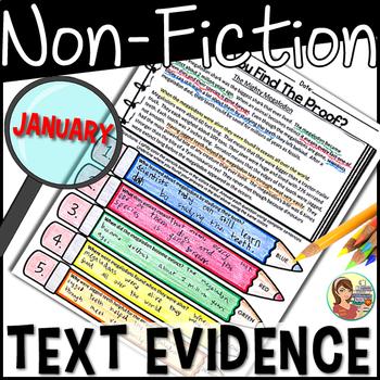 Non-Fiction Text Detectives {January}