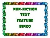 Non Fiction Text Feature BINGO Set