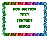 Non Fiction Text Feature BINGO Set
