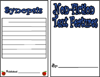 Non-Fiction Text Feature Booklet